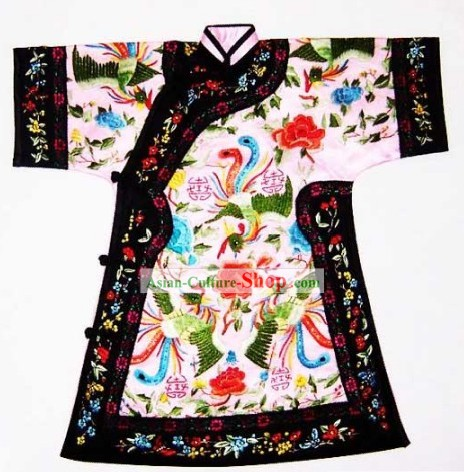 100 Percent Hand Made Traditional Beijing Embroidery Robe of Chinese Empress