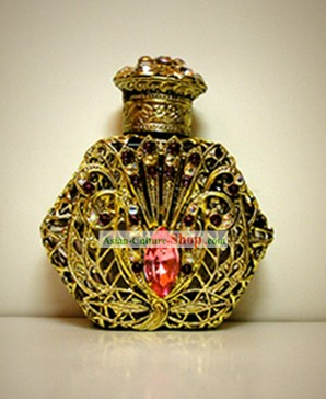 Bohemia Crystal Craftwork Perfume Bottle 7