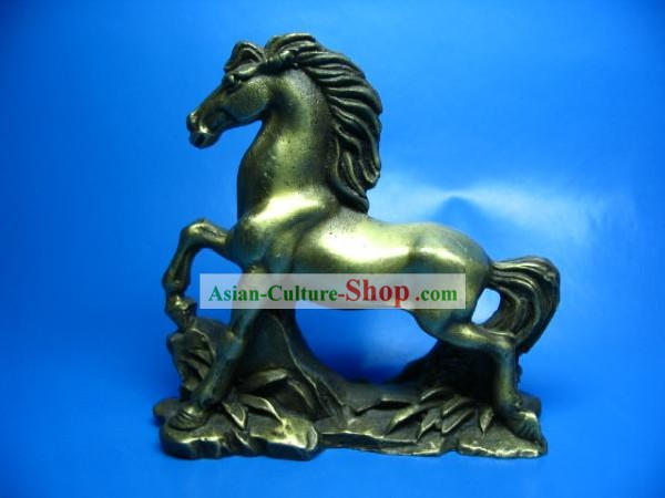 Chinese Classic Brass Galloping Horse
