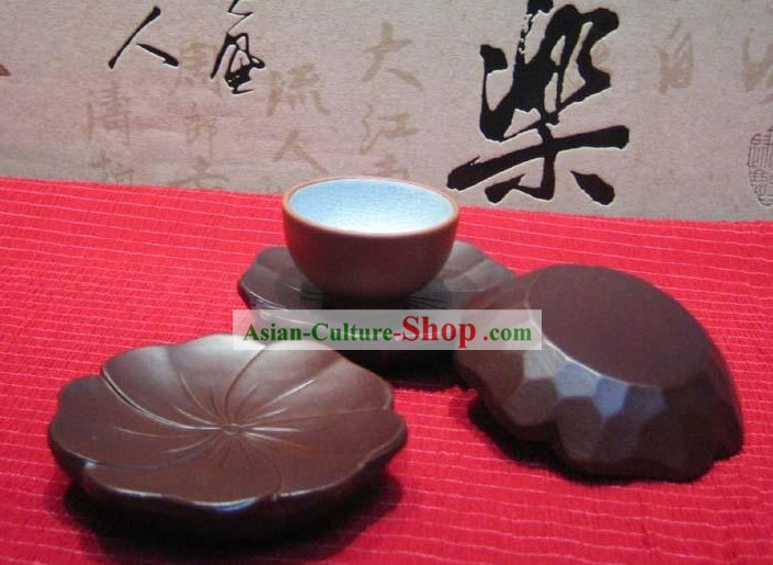 Chinese Hand Made Birch Round Tablemat
