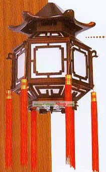 Chinese Classical Tower Palace Ceiling Lantern