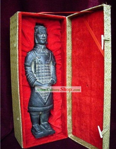 Chinese Terra Cotta Warrior Reproduction Standing Statue