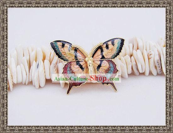 Chinese Ancient Mandarin Style Butterfly Brooch
