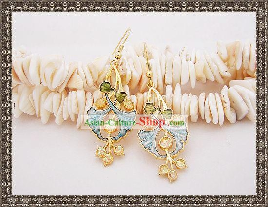 Chinese Ancient Mandarin Style Earrings