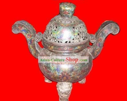 Chinese Delicate Cloisonne Censer