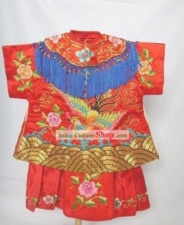 Chinese Hand Made Wedding Puppet Costumes