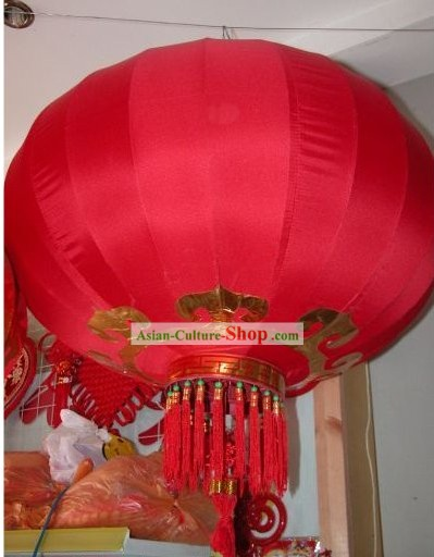 Chinese Traditional Large Red Lantern