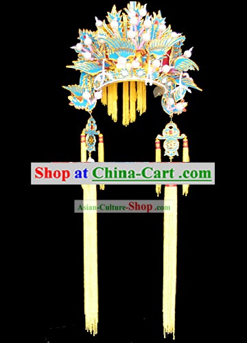 Chinese Ancient Traditional Wedding Hat for Bride