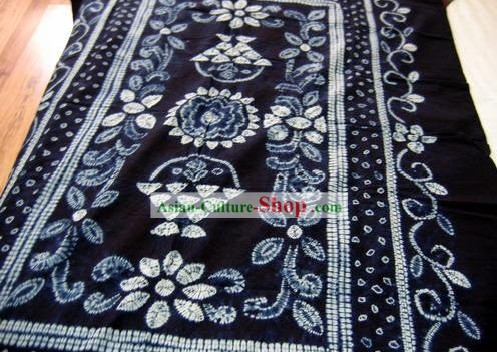 Chinese Classical Large Batik Tablecloth-Blooming
