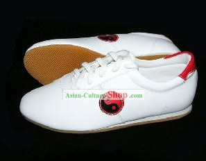 Chinese Professional Taiji Shoes/White Shoes