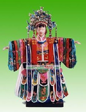 Chinese Traditional String Puppet - Emperor