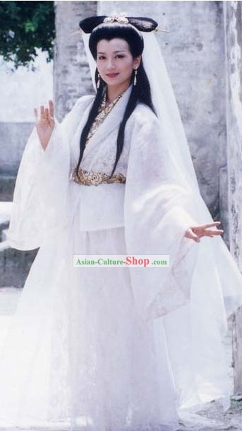 Bai Suzhen Ancient Chinese Fairy Costumes in Legend of the White Snake