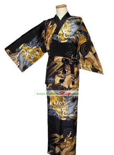 Japanese Tiger Costumes Kimono for Men