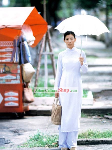 Traditional Viet Costume Complete Set