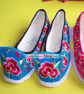Traditional Embroidery Shoes to Go With Chinese Ancient Clothing