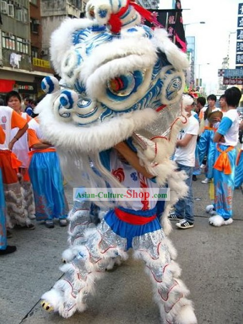 GLOW IN DARK Competition and Parade Lion Dance Costumes Complete Set