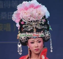 Chinese Ancient Empress Phoenix Hair Decoration and Wig