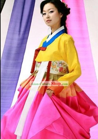 Traditional Korean Hanbok National Dress Set