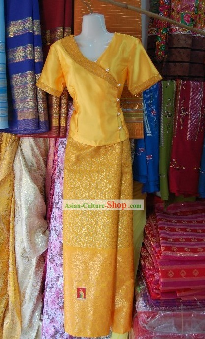 Traditional Thai Dress Complete Set