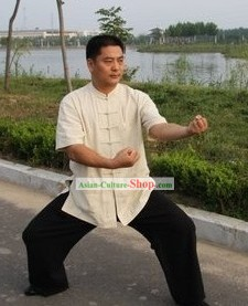 Chinese Tai Chi Costume Complete Set