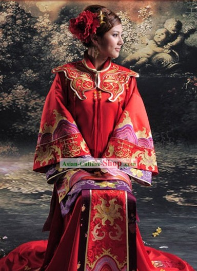 Chinese Classic Wedding Ceremony Dress for Women