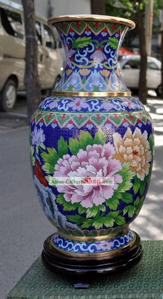 Chinese Classic Cloisonne Vase