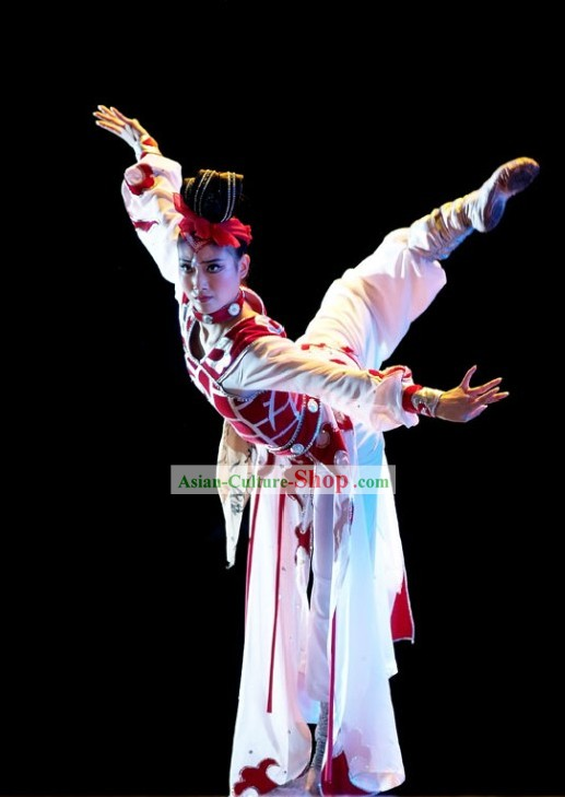 Hua Mulan Drama Dance Costume Set