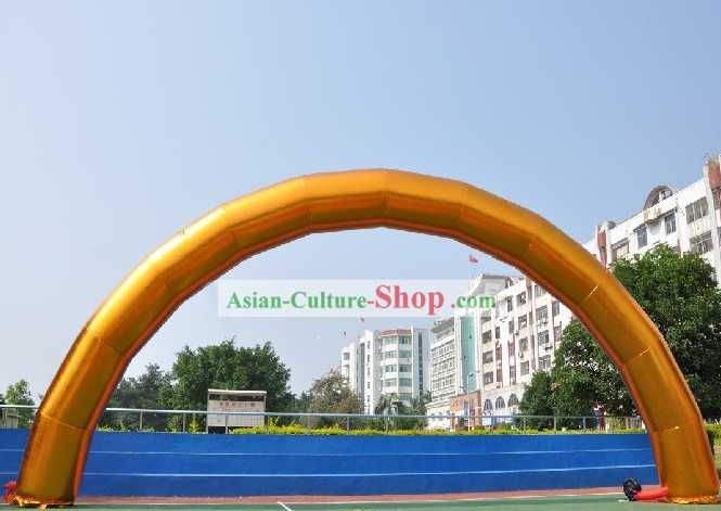 473 Inches Chinese Large Inflatable Golden Arch