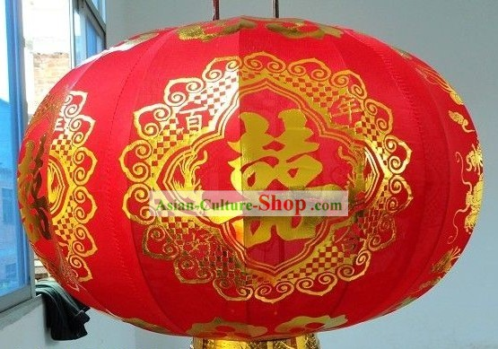 Traditional Chinese Red Phoenix Lantern