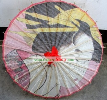 Traditional Japanese Painted Umbrellas