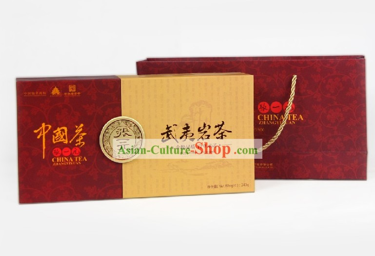 Chinese Zhang Yiyuan Supreme Fujian Oolong Tea in Gift Package