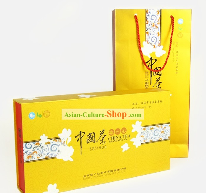 Chinese Zhang Yiyuan Jasmine Flower Tea in Gift Package