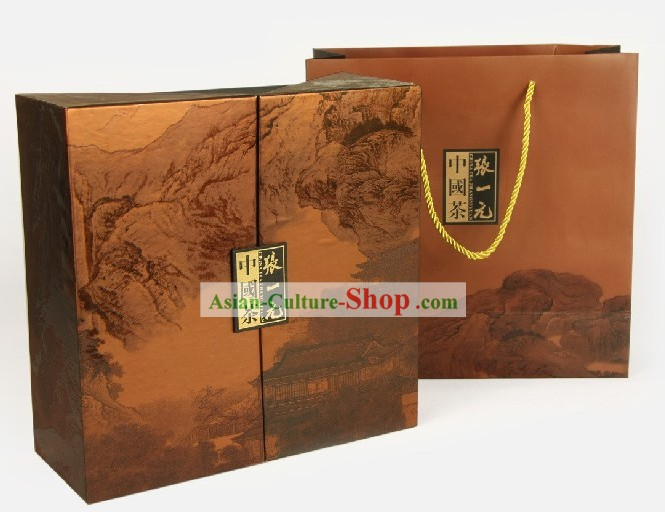 Chinese Zhang Yiyuan Fujian Wu Long Tea in Gift Package