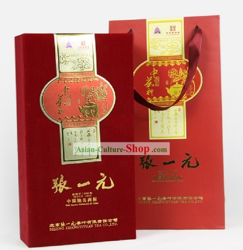 Chinese Zhang Yiyuan Fujian Tie Guan Yin Tea in Gift Package