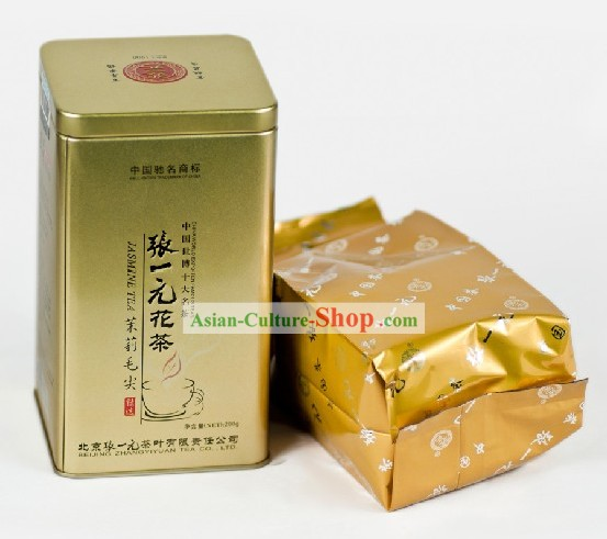 Chinese Zhang Yiyuan Mao Jian Jasmine Tea in Gift Package