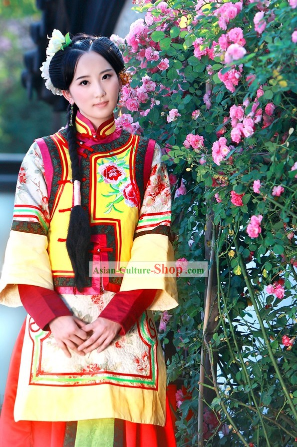 Palace Drama Ji Qingchuan Qing Dynasty Imperial Clothing Complete Set