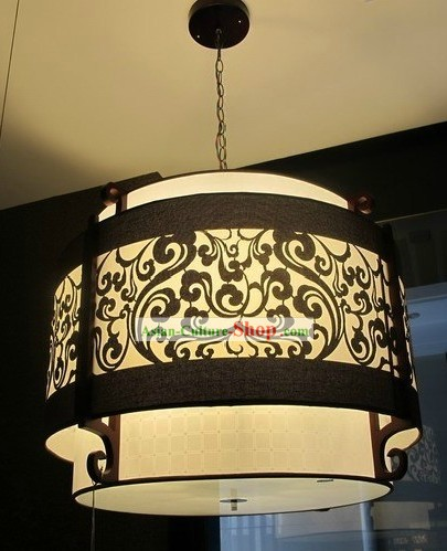 Chinese Style Decoration Wooden Hanging Lantern