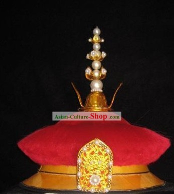 Chinese Qing Dynasty Emperor Crown