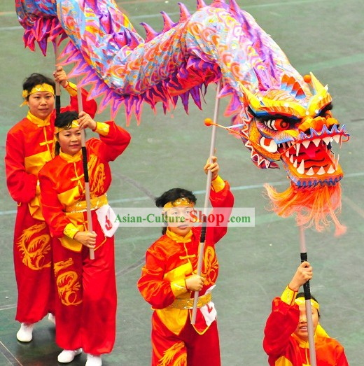 Supreme Luminous Dragon Dance Costume Complete Set