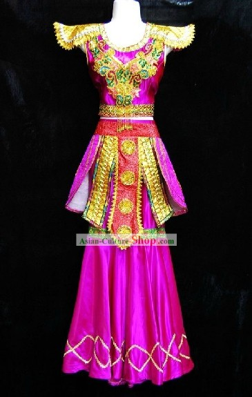 Traditional Thailand Dance Costumes