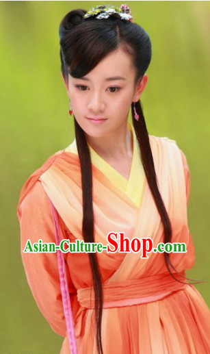Ancient Chinese Female Heroine Costumes