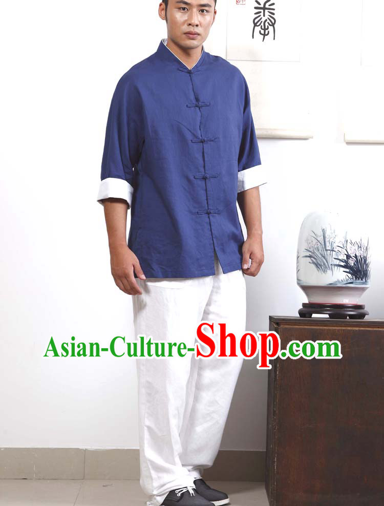 Traditional Chinese Style Kung Fu Clothing for Men