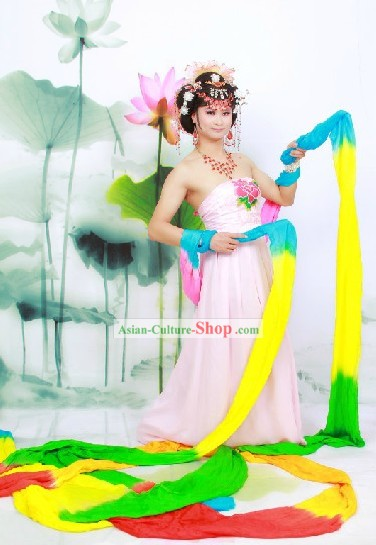 20 Meters Rainbow Color Classic Dance Ribbon