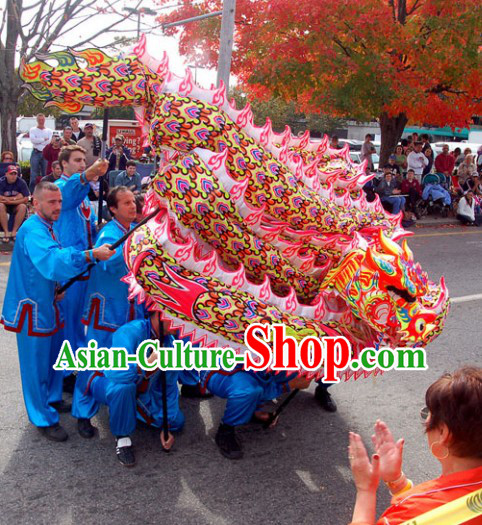 Supreme Luminous Dragon Dance Costumes Complete Set