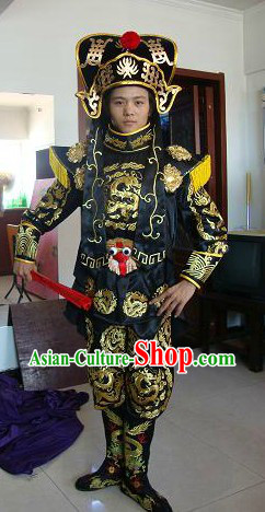 Chinese Change Mask Costumes Hat Boots Masks Complet Set