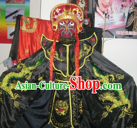 Bian Lian Face Changing Costumes Helmet Eight Masks Music CD and Teaching DVD Ccomplete Set