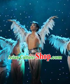 Traditional Ethnic Stage Performance Dance Costumes for Men