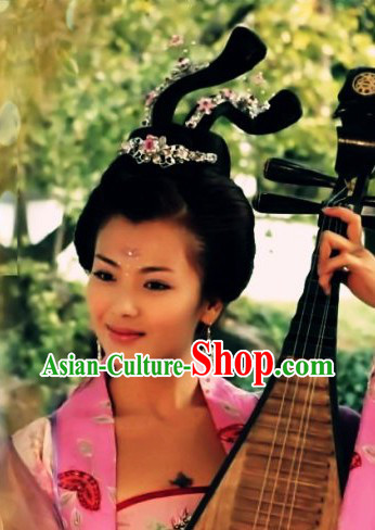 Ancient Chinese Fairy Wig and Accessories