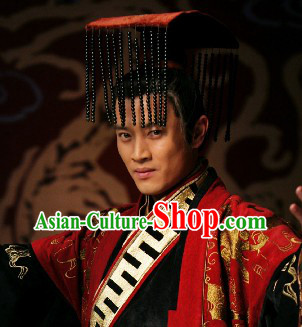 Phoenix and Peony Television Drama Emperor Crown for Men