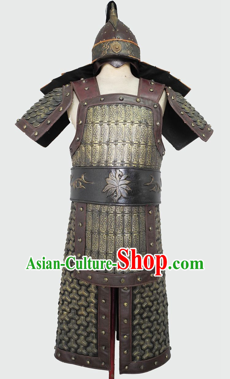 Ancient Chinese Military Armor Uniforms for Men